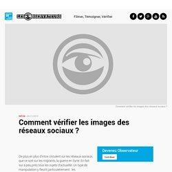 Comment vérifier les images des réseaux sociaux ?