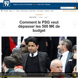 Comment le PSG veut dépasser les 500 M€ de budget