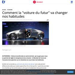 """Comment la """"voiture du futur"""" va changer nos habitudes"""