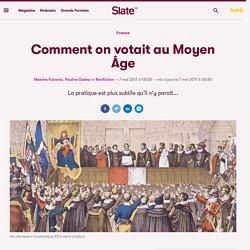 Comment on votait au Moyen Âge