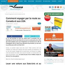 Comment voyager par la route au Canada et aux USA