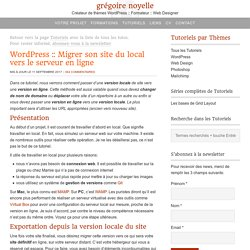Comment migrer son site WordPress pas à pas