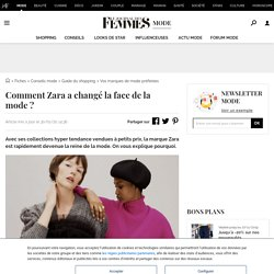 Comment Zara a changé la face de la mode?