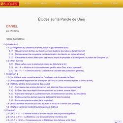 Commentaire sur le livre de Daniel