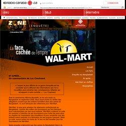 Zone libre enquêtes : La face cachée de l'empire Walmart