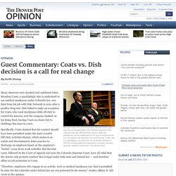 Guest Commentary: Coats vs. Dish decision is a call for real change