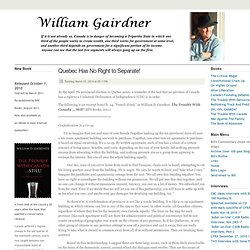 William Gairdner, freethinker