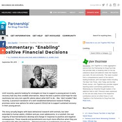 """Commentary: """"Enabling"""" Positive Financial Decisions"""