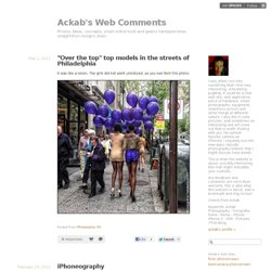 Ackab's Web Comments - Photos, ideas, concepts, smart online tools and geek's hardware news straight from Ackab's desk!