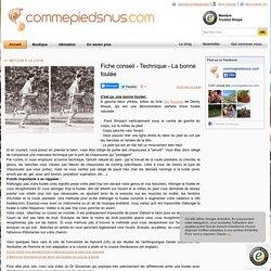 Fiche conseil - Technique - La bonne foulée - commepiedsnus.com – FiveFingers France