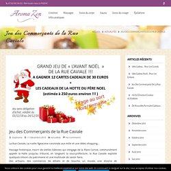 Jeu des Commerçants de la Rue Caviale – Aroma Zen Figeac