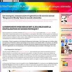 """Les marques, commerçants et opérateurs de service seront """"Responsive Ready"""" dans le monde ubimédia"""