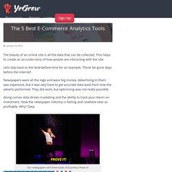 The 5 Best E-Commerce Analytics Tools - YoGrow