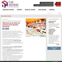 Etude Insee sur les métiers du commerce et de l'artisanat commercial