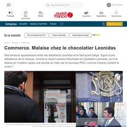 Commerce. Malaise chez le chocolatier Leonidas