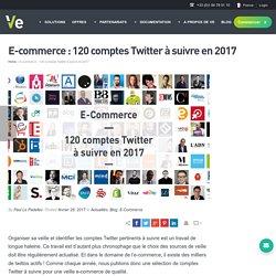E-commerce : 120 comptes Twitter à suivre en 2017