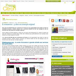 E-commerce : 5 sites au concept original