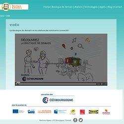 Commerce connecté Bourgogne - La Boutique de demain & ateliers