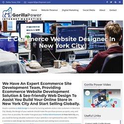 E commerce Website Development New York City