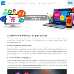 E-commerce Website Designing Company, Agency & Services