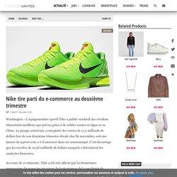 Nike tire parti du e-commerce au deuxième trimestre