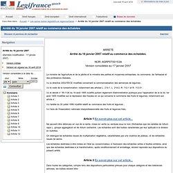 Arrêté du 16 janvier 2007 relatif au commerce des échalotes. (JORF du 17-01-2007)