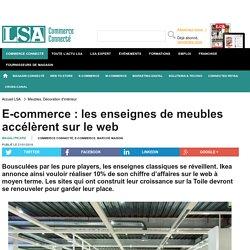 E-commerce : les enseignes de meubles... - Marché maison