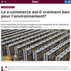 Le e-commerce est-il vraiment bon pour l'environnement?