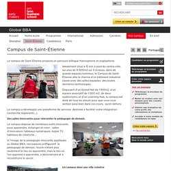 Ecole de commerce à Saint-Etienne - Global BBA d'emlyon business school
