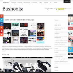 25 Best E-commerce Website Examples 2014