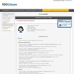 CV Commerce : exemple cv Conseillère de vente Commerce