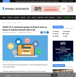 COVID-19: E-commerce grows in B'desh even as those in fashion domain take a hit