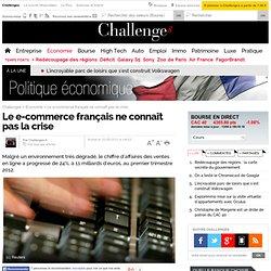 Le e-commerce français ne connaît pas la crise