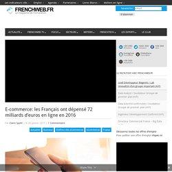 E-commerce: les Français ont dépensé 72 milliards d'euros en ligne en 2016