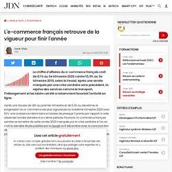 L'e-commerce français retrouve de la vigueur pour finir l'année