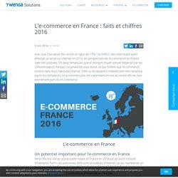 L'e-commerce en France : faits et chiffres 2016