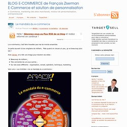 Le mandala du e-commerce