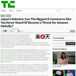 Japan's Rakuten: Can The Biggest E-Commerce Site You Never Heard