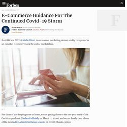 Council Post: E-Commerce Guidance For The Continued Covid-19 Storm