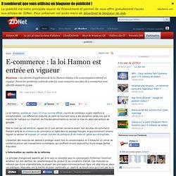 E-commerce : la loi Hamon est entrée en vigueur