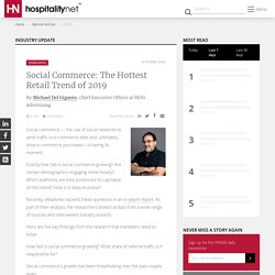 Social Commerce: The Hottest Retail Trend of 2019