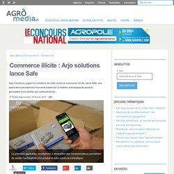 Commerce illicite : Arjo solutions lance Safe
