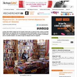Royaume-Uni : le commerce internet dépasse les ventes en librairies