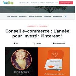 Conseil e-commerce : L'année pour investir Pinterest !