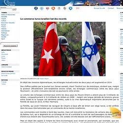 Le commerce turco-israélien bat des records