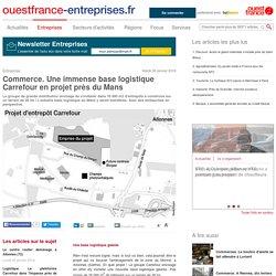 Commerce. Une immense base logistique Carrefour en projet près du Mans