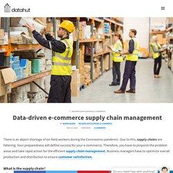 Data-driven e-commerce supply chain management - Datahut