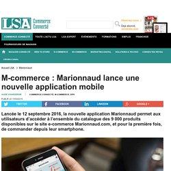 M-commerce : Marionnaud lance une nouvelle...