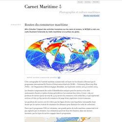 Carte route Maritime (Passage) Géographie