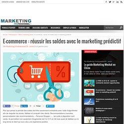 E-commerce : comment réussir les soldes avec le marketing prédictif